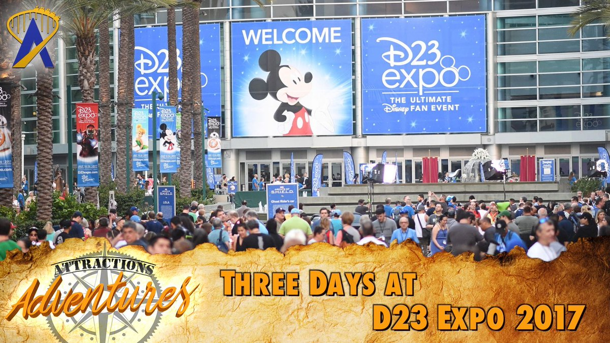 Quinn explores this year&#39;s #D23Expo on the latest Attractions Adventures:  https:// buff.ly/2yjCXXe  &nbsp;  <br>http://pic.twitter.com/AkBjFqWjjk