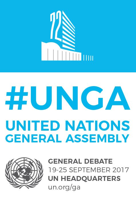 The General Debate of the UN General Assembly starts tomorrow. Stay tuned for updates and live #webcasts.  #UNGA <br>http://pic.twitter.com/0sR2fq4MOS