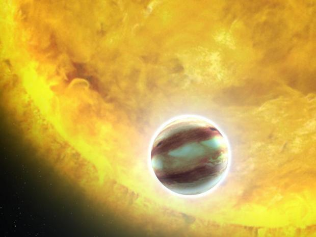 Physicists discover an &quot;#ozone layer&quot; on distant #exoplanet. Via @ScienceNordic  http:// egu.eu/3ZC8VN/  &nbsp;  <br>http://pic.twitter.com/LaK6GzHQT3