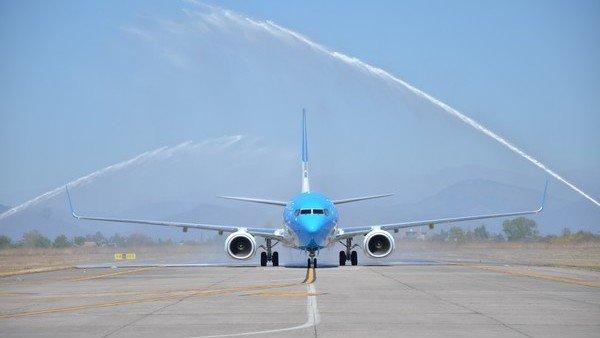 Aerolíneas incorporó un nuevo Boeing 737/800 https://t.co/rGlzzX7bZI h...