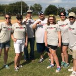 The @Systemware #Cornhole team threw down at the #RichardsonCorporateChallenge over the weekend! 💪 @SOTexas #EmployeesBeingAwesome
