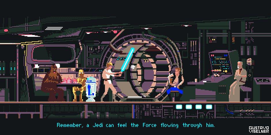 Gustavo Viselner On Twitter Star Wars Now In 16 Colors