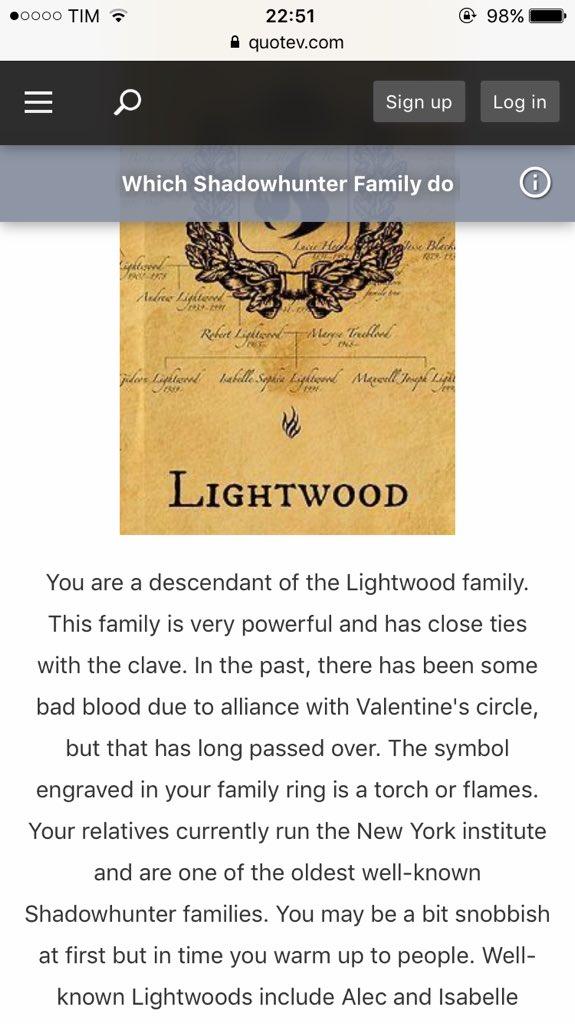 Secondo questo altro sito Lightwood �� https://t.co/H2957E1DLO