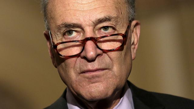 JUST IN: Schumer threatens to jam up Senate to block GOP ObamaCare repeal bill https://t.co/GCgQR5DK6j https://t.co/8bcTKA8sDh