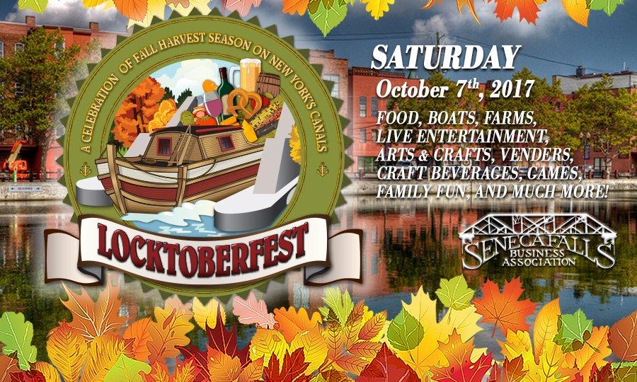 Seneca Falls to host Locktoberfest along canal next month