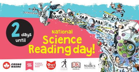 The first National Science Reading Day is in 2 days! https://t.co/RHYo...