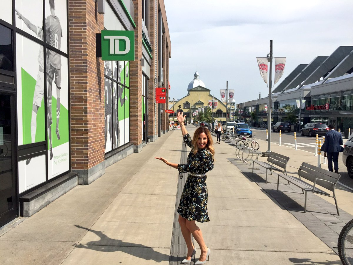 First day of the new gig! Excited to be back at #TDPlace!! #firstday #bestteam #lansdownepark #bestbankonbank @matthewcram_TD<br>http://pic.twitter.com/Sgqa41ukWp &ndash; at Lansdowne Park