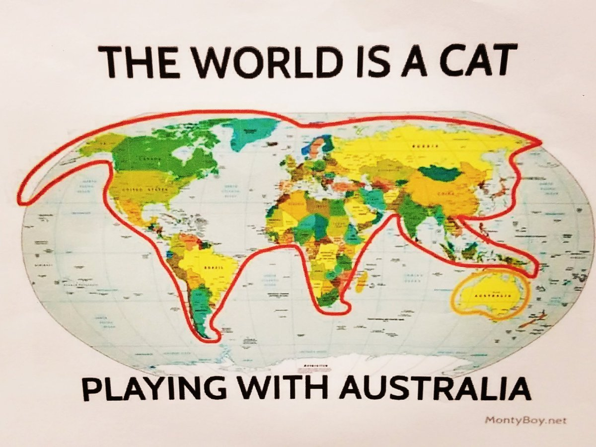 Mr delinski on twitter the other day in class luke says to me the other day in class luke says to me mr delinski did you know the map of the world looks like a cat today he proved it gumiabroncs Image collections