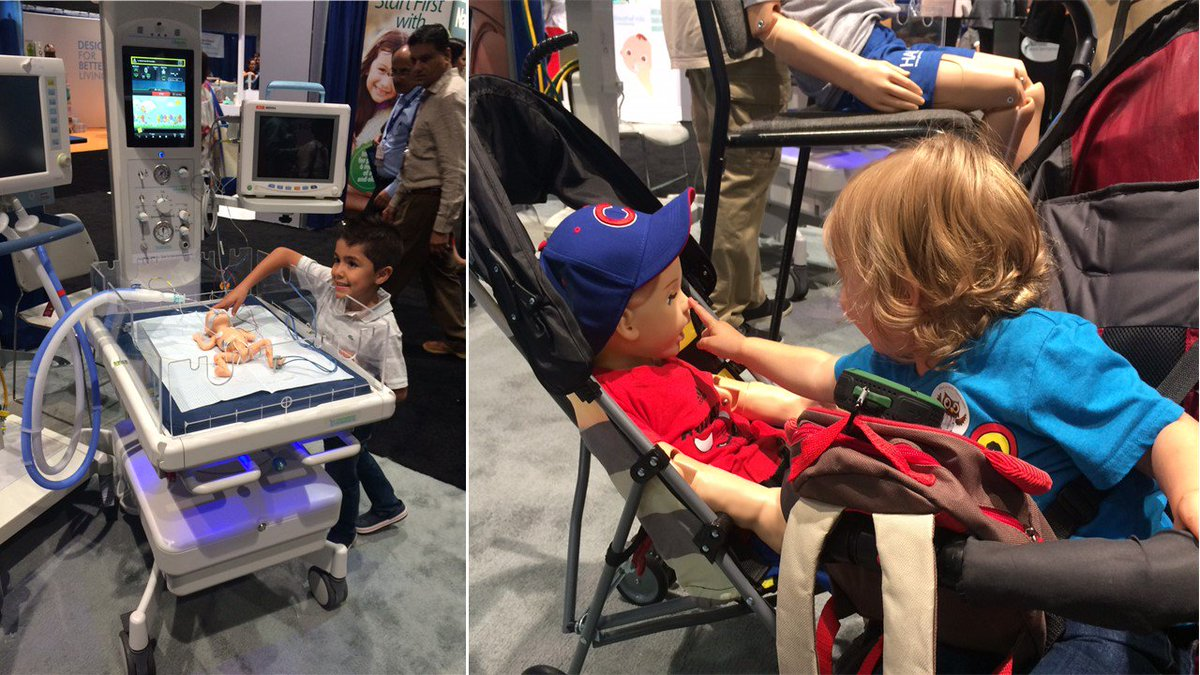 Budding #pediatricians love meeting the #realistic #Gaumard family @AAPexperieNCE. #AAP17 #MotivationMonday #MadeInAmerica<br>http://pic.twitter.com/EN7uCNRgUi