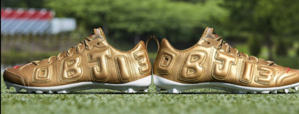 e4e769c46f first look odell s air supreme more uptempo inspired cleats for warmups  today
