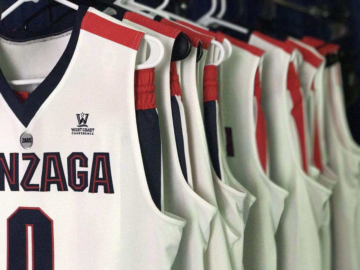 Gonzaga Basketball On Twitter Jerseys Out Cameras Rolling It S