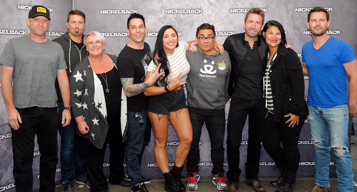 Marcus on twitter saturdays nickelback concert was amazing we marcus on twitter saturdays nickelback concert was amazing we even got to meet them thanks to b987slc they were the nicest guys we had so much fun m4hsunfo
