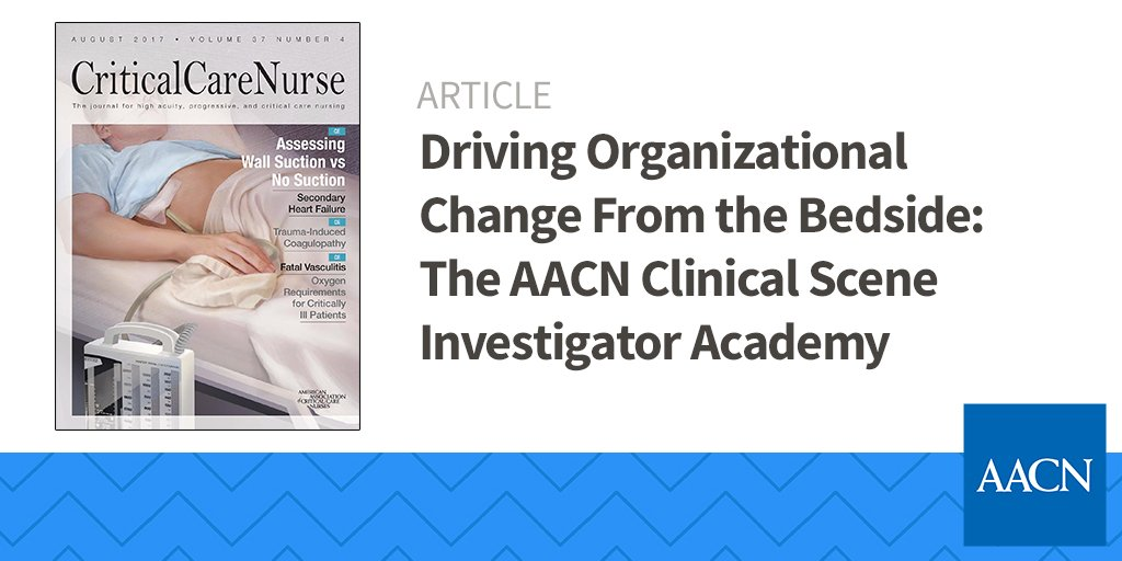 You know nurses have the skills to drive change from the bedside. See how:  http:// spr.ly/60048F2jw  &nbsp;   #Journal #CriticalCare<br>http://pic.twitter.com/yp5e3VCLi0