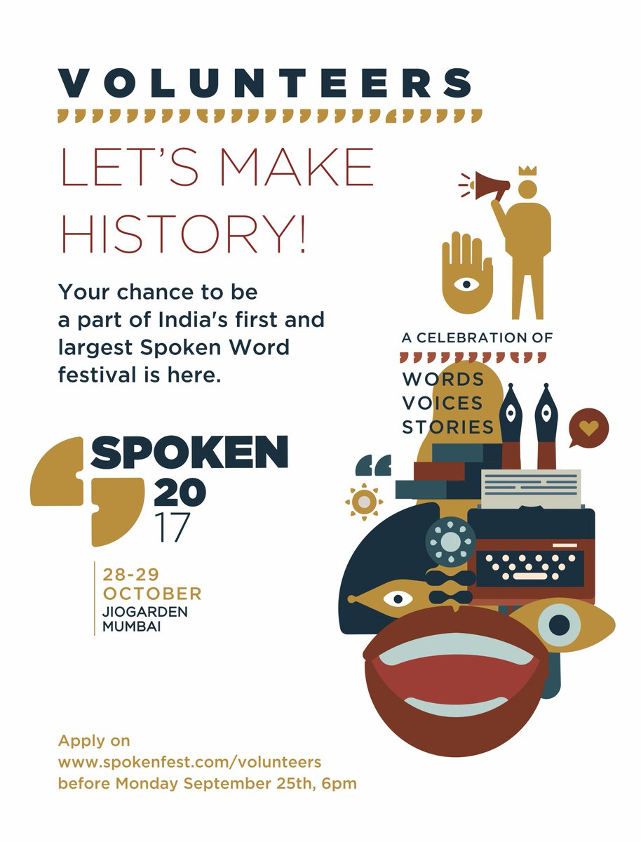 6c7a2560 Kommune is launching India's first & largest #spokenword festival and  here's your chance to be a part of the madness right from the start!pic.twitter.com/  ...