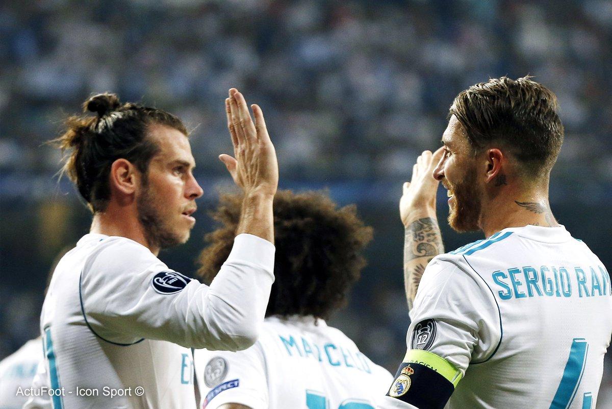 Face à la Real Sociedad, Gareth Bale s'est défait d'un adversaire grâce à une course à 35 km/h. 💨 (Marca)