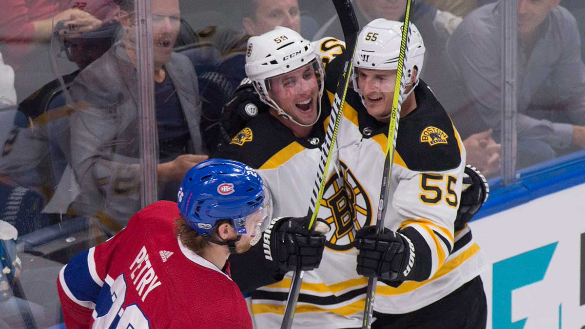 The #Bruins erased a two-goal deficit in Monday's win over the #Canadi...