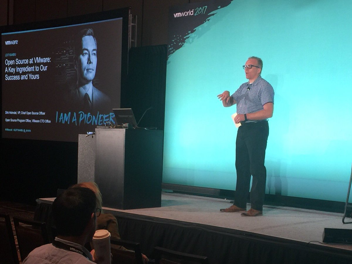 #OpenSource made a huge splash at #VMworld this year. Read how @VMware integrates OS code into every product:  http:// bit.ly/2x9OR8s  &nbsp;  <br>http://pic.twitter.com/J8G9yaLu2E
