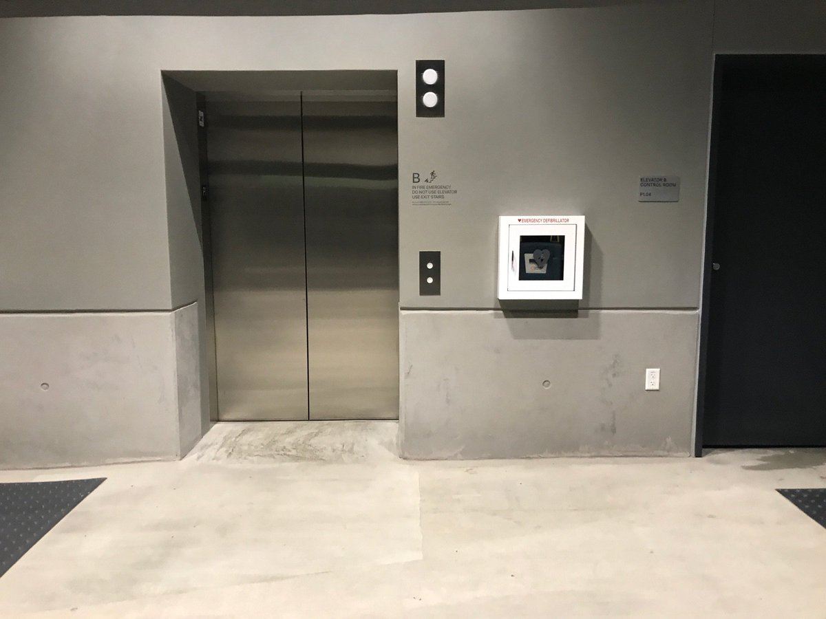 john gruber on twitter this is one of the two elevators on level Hotel Parking Garage Elevator john gruber on twitter this is one of the two elevators on level p1 of the apple park visitors center parking garage