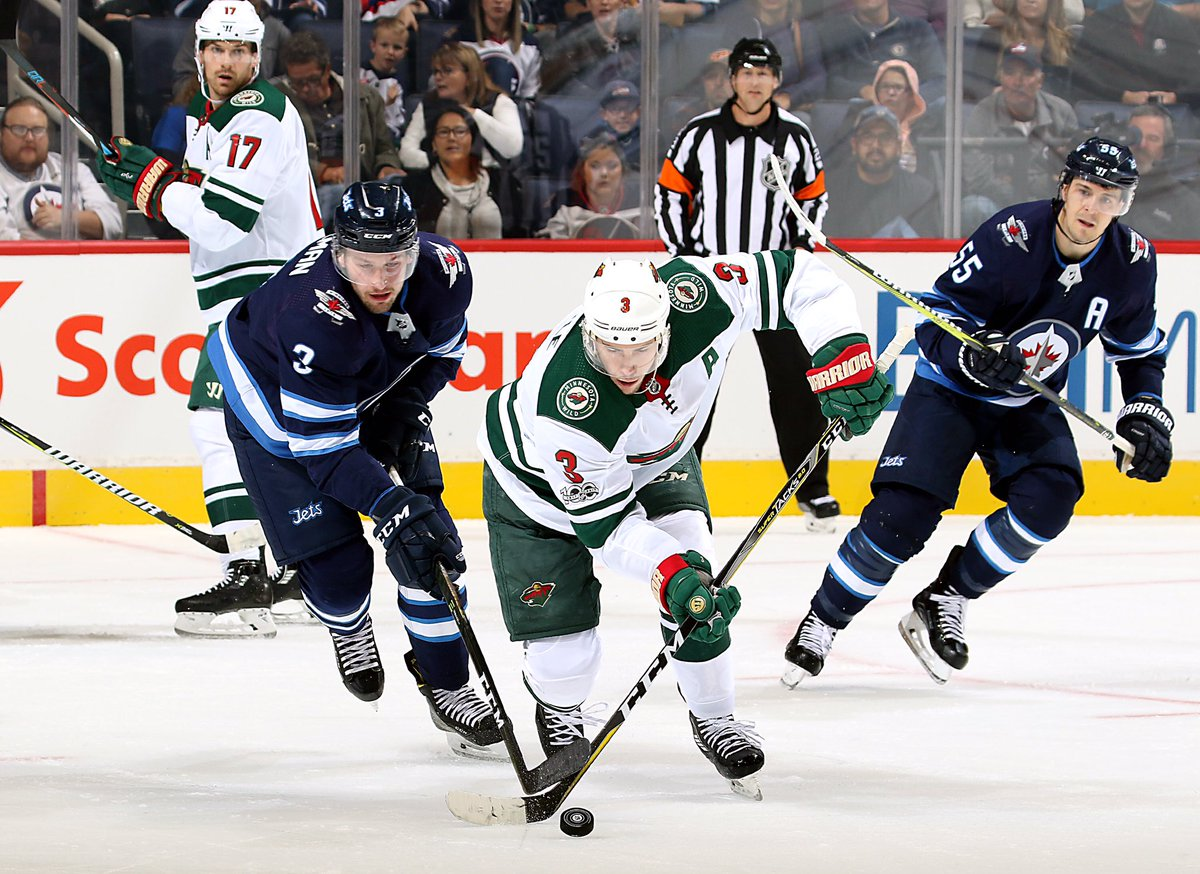 #mnwild beats the #nhljets, 3-2, in the shootout! Ryan Malone with the...