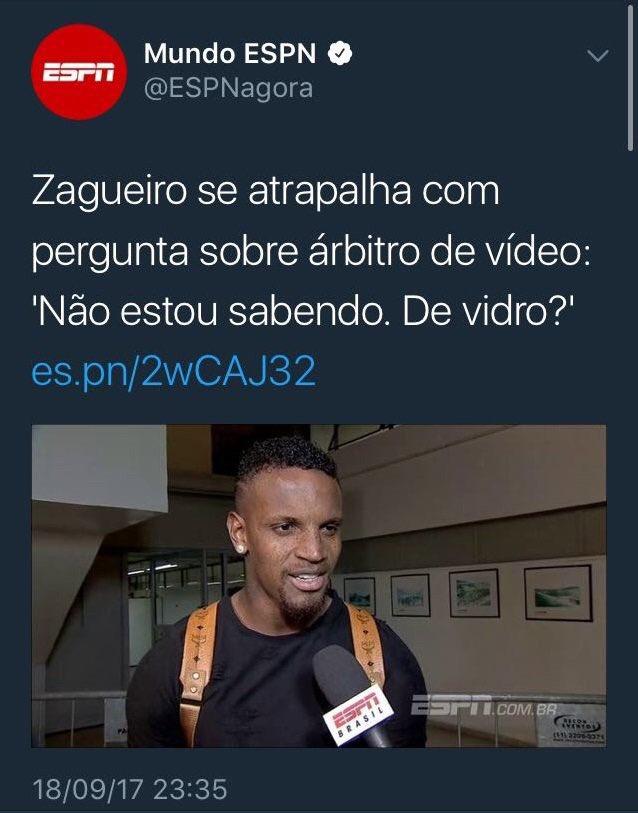 A implantação do árbitro de vidro trará transparência ao futebol brasileiro?