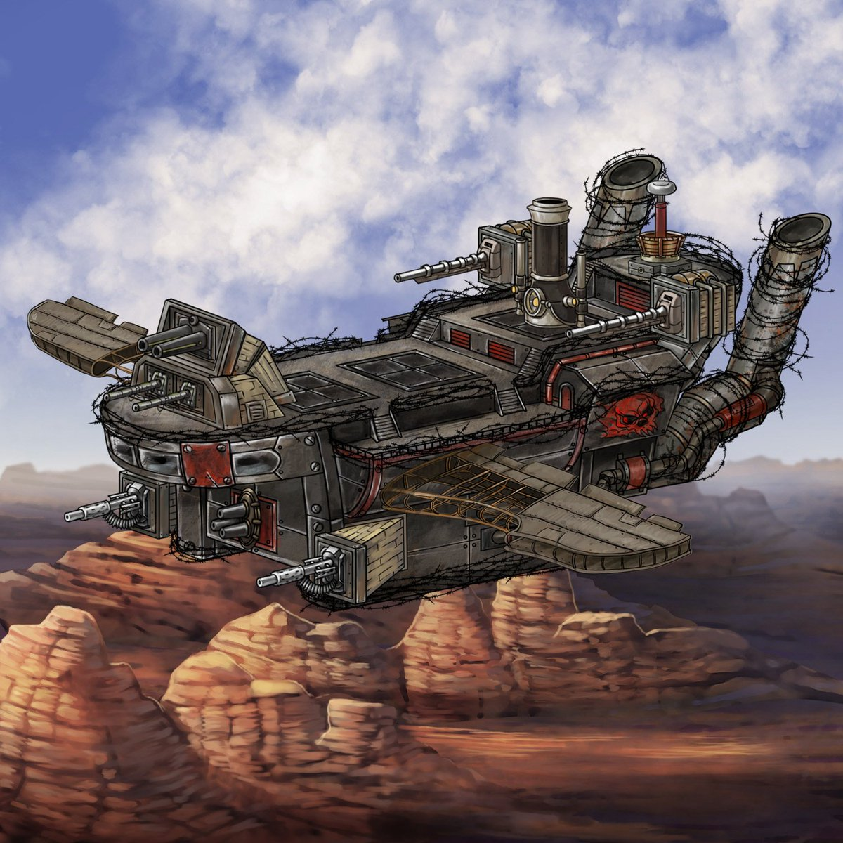 Age of Grit, a #CRPG with #cowboys and #steampunk airships! Help us out on @ThunderclapIt! https://t.co/Wz0PRPBpV6