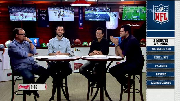 Two Minute Warning tem opiniões sobre a semana 2 da NFL; assista https://t.co/KuVLcjUX02 @ESPNLeague_br