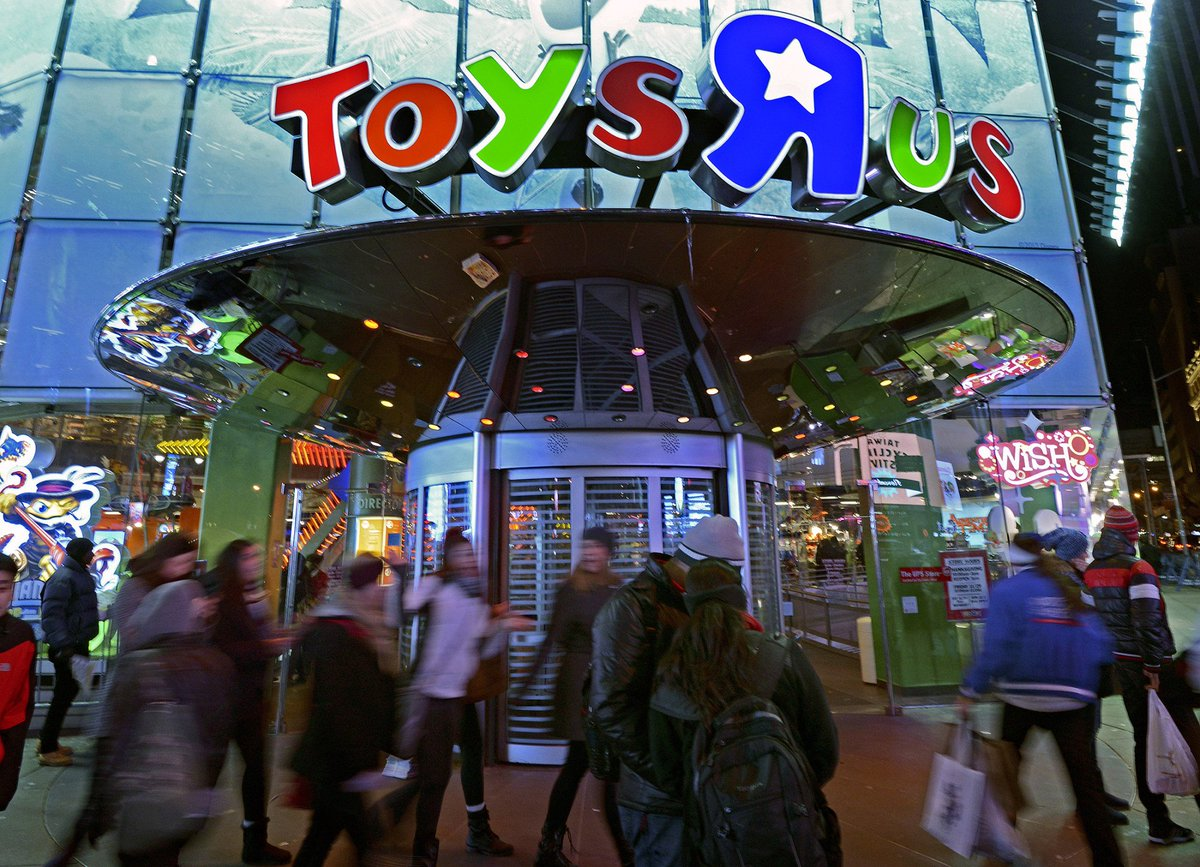 JUST IN: Toys 'R' Us has filed for bankruptcy https://t.co/9LtzpUNeUF...