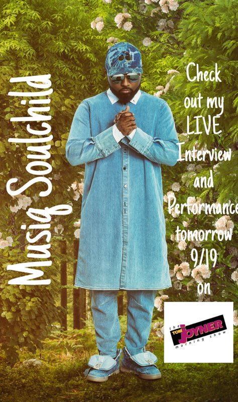 Check out my live interview and performance tomorrow on the @TJMShow