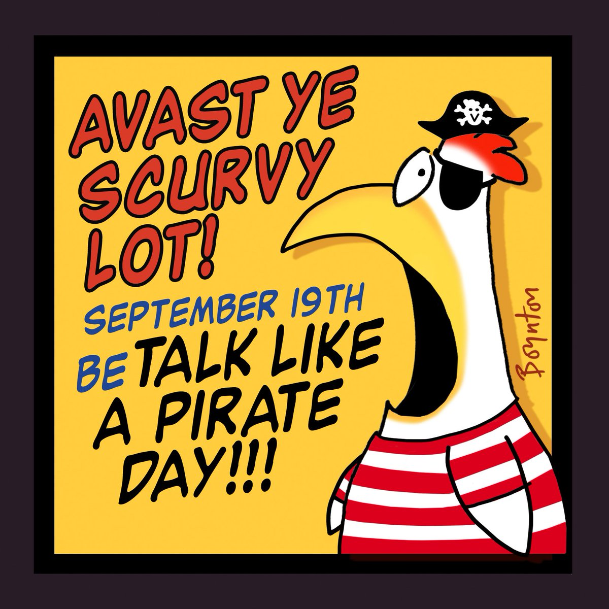 AHOY! It be #talklikeapirateday https://t.co/0xksr9ugoT