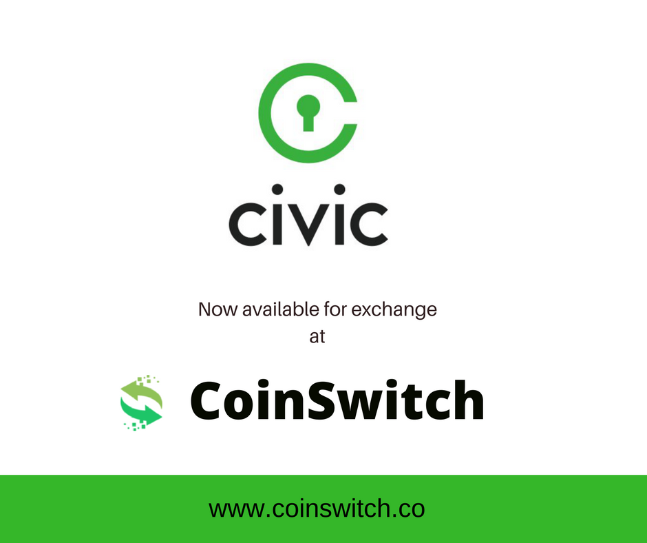civic cryptocurrency buy