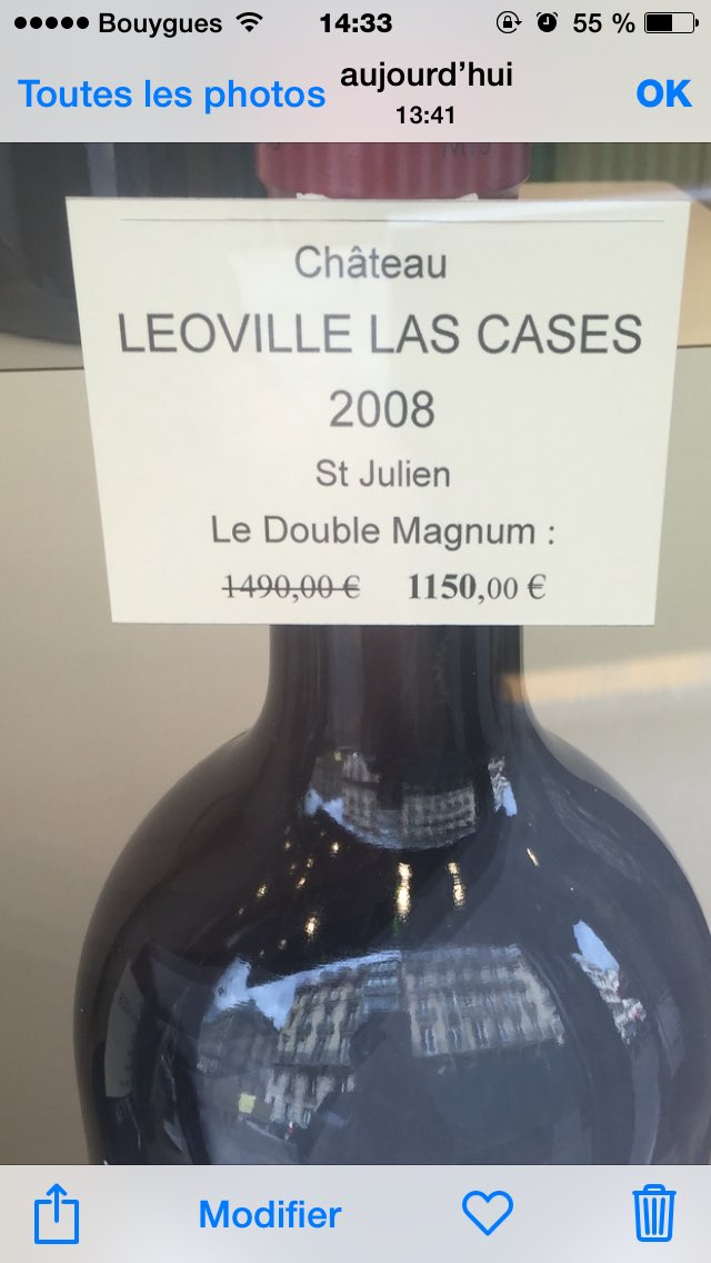 La foire au vins dans le Triangle d'Or parisien. Gloups!
