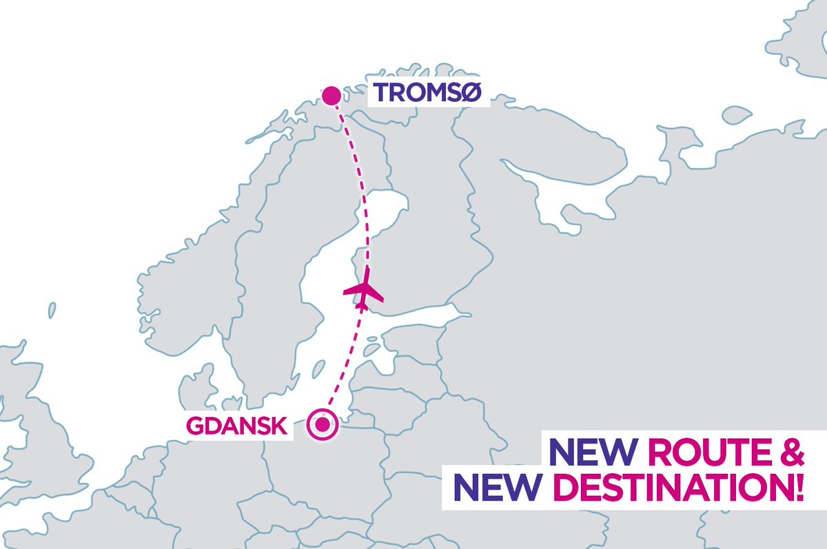 Wizz Air Ar Twitter Wizznews New Destination In Wizz Network Tromso The New Route From Gdansk Will Commence On 16 December More Https T Co Dt3lvbyefo Https T Co Fdcagk3rqw