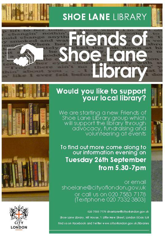 Shoe Lane Library on Twitter: