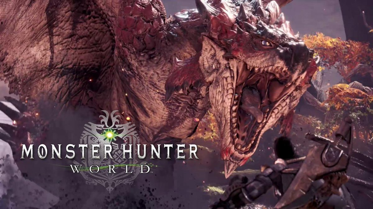 Monster Hunter: World is unleashed on #PS4 26th January 2018: check ou...