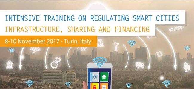 8-10 November #Turin: 3 days #IntensiveTraining on #Regulating #SmartCities. Last few days to apply  http:// fsr.eui.eu/training/commu nications-media/intensive-training-regulating-smart-cities-infrastructure-sharing-financing/ &nbsp; … <br>http://pic.twitter.com/VDXYjhy5p8