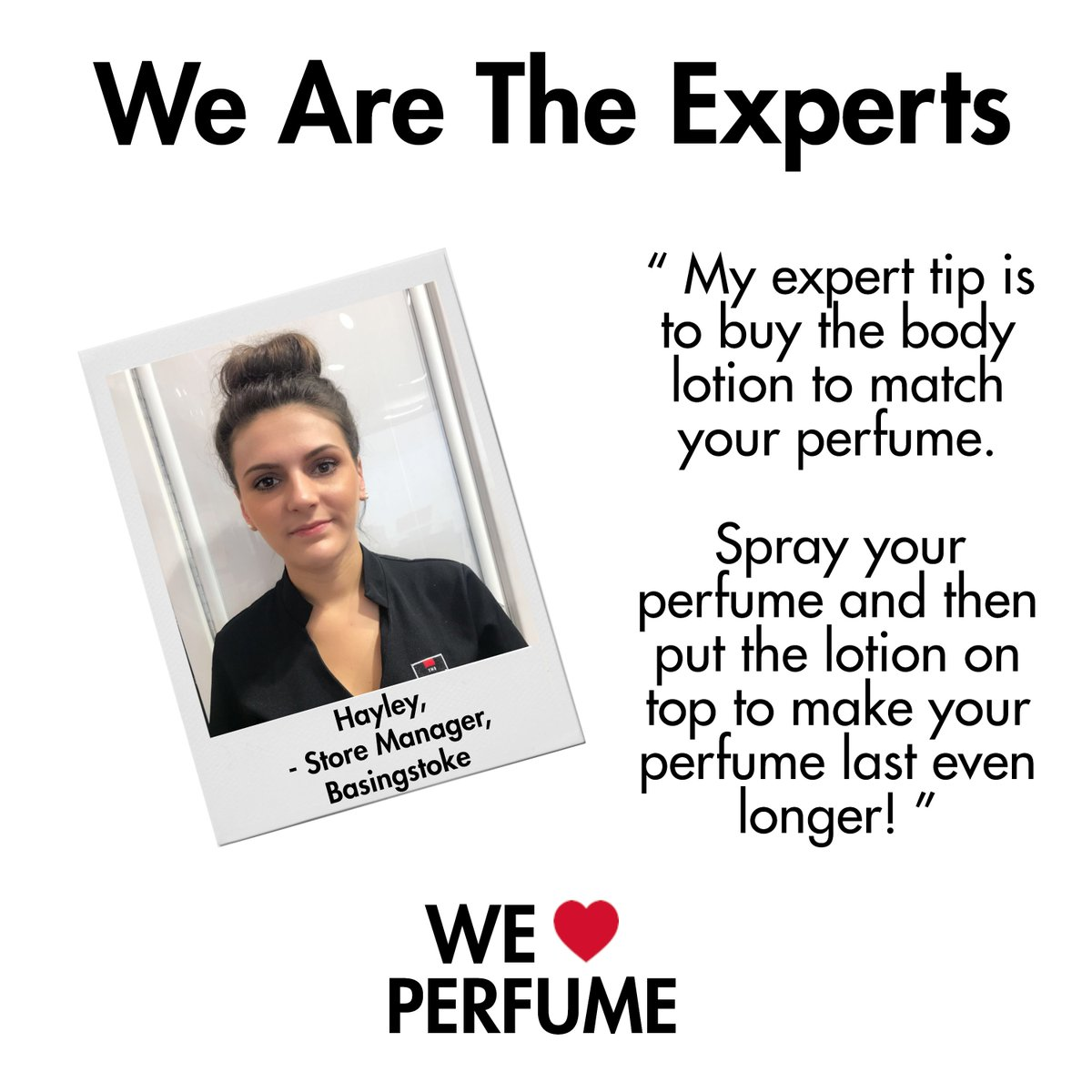 Here&#39;s Hayley, Manager of our Basingstoke store, with her expert tip! Find out more from our experts here  http:// bit.ly/2wABrOj  &nbsp;   #Expertise <br>http://pic.twitter.com/gU9NjqGXuY