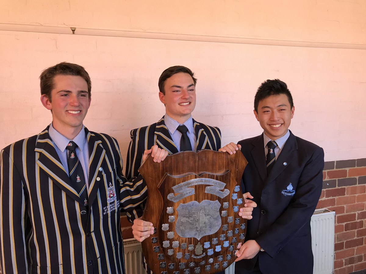 Congrats to Sheaffe House on winning the 2017 House Shield - great effort from all involved across a number of events throughout the year.