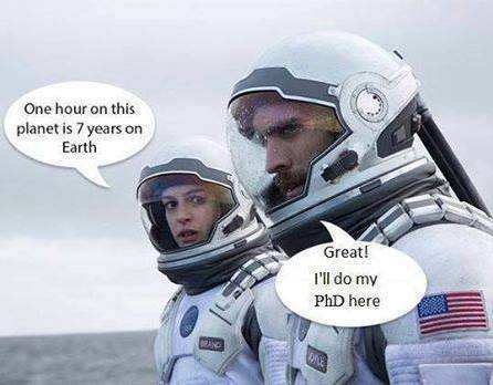 I think he&#39;s on to something here....  #gradschool #PhD #sciencefunny<br>http://pic.twitter.com/64lbVjKC8Z