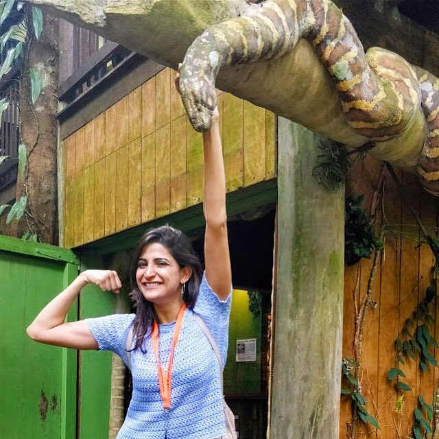 Don&#39;t hiss me off!  #AahanaInAustralia #DaintreeRainforest #SnakesOfAustralia #snakes <br>http://pic.twitter.com/1I8UeHVQuB