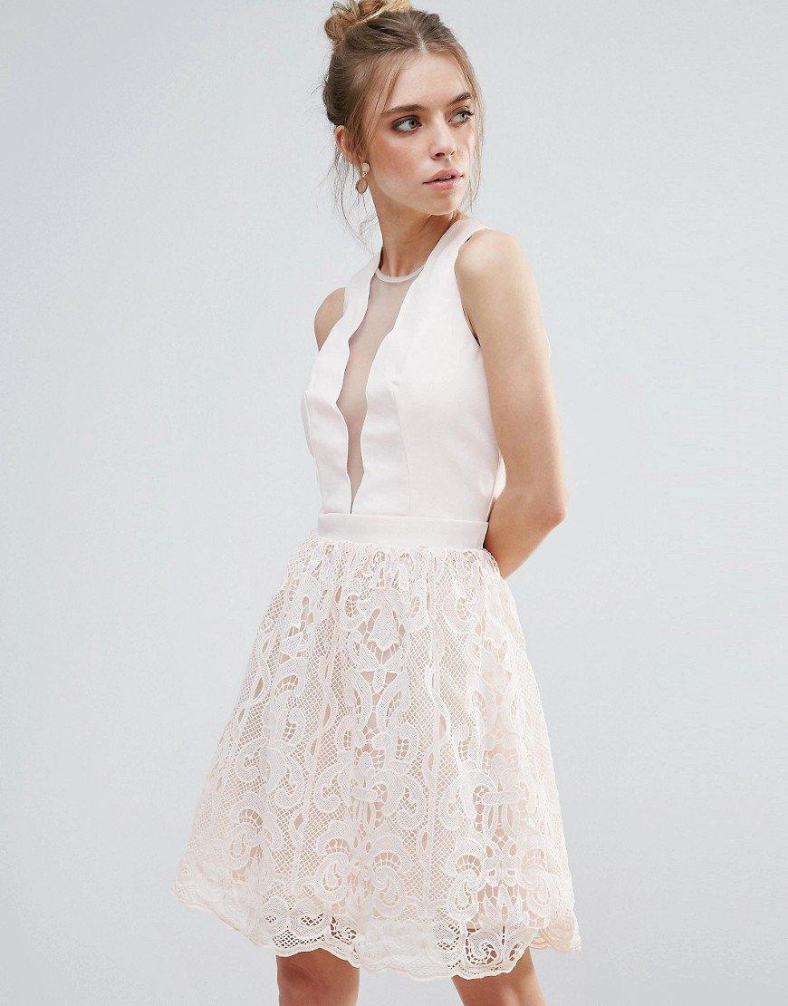 Little Mistress Scallop And Cr - Dress by Little Mistress, Wove https://t.co/aSqVfmG9aa https://t.co/q5EGqItjNS