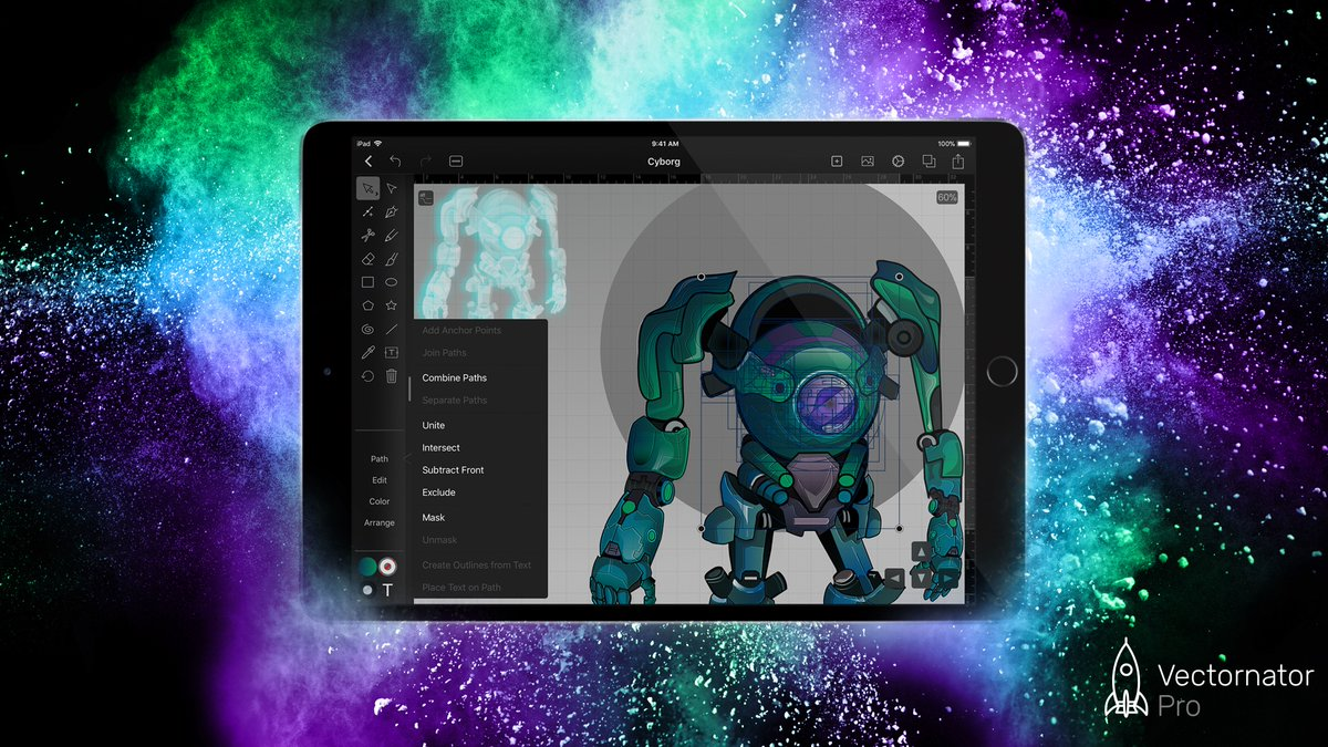 The world&#39;s finest desktop-class #vector #graphic #design software for #iOS just received it&#39;s biggest update yet. #illustration<br>http://pic.twitter.com/bnOaFI1KSM
