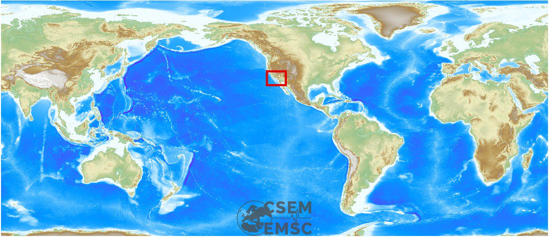 #Earthquake (#sismo) possibly felt 2 min ago in Greater Los Angeles Ar...