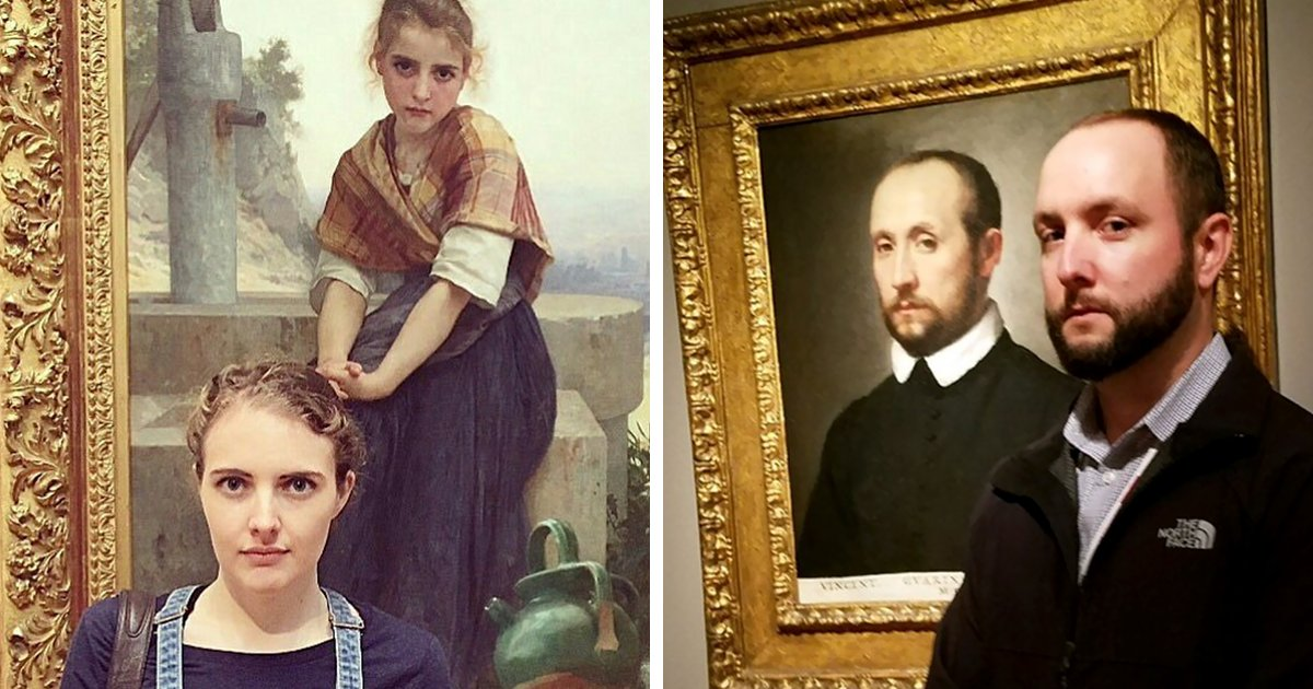 People Who Accidentally Found Their Doppelgängers In Museums https://t.co/I6Qykp49Bw https://t.co/OVWNP4K5AF