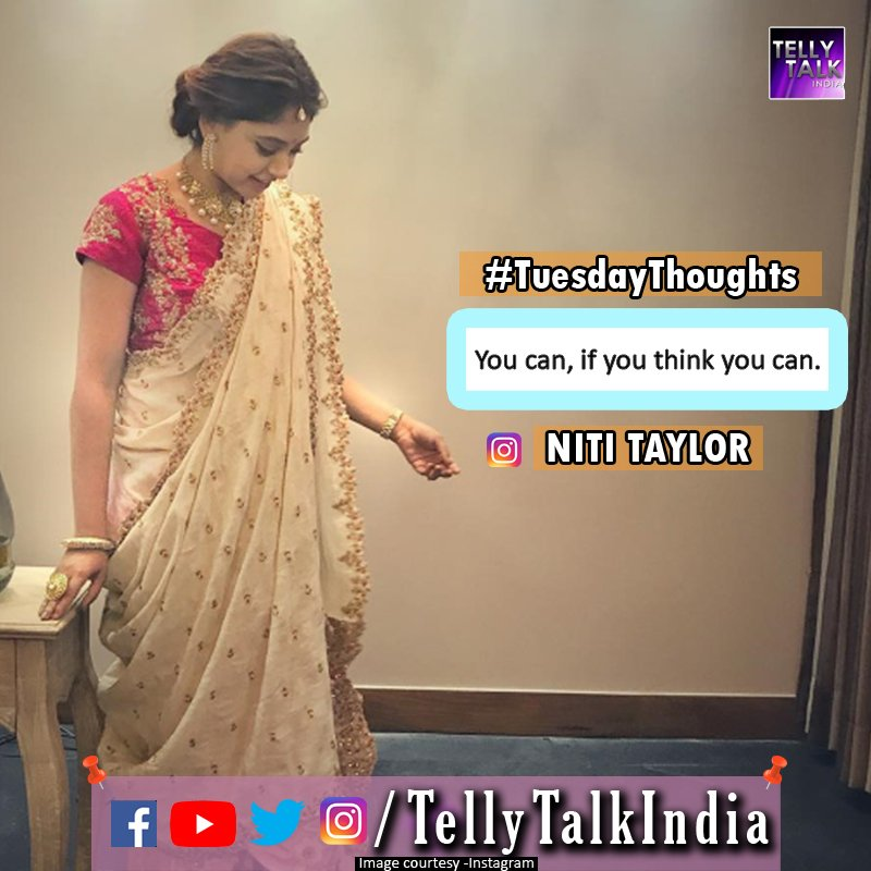 #NitiTaylor's #TuesdayThoughts.  Don't you agree with her? https://t.c...