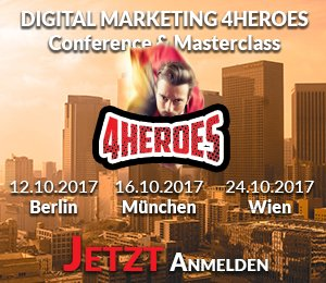 #Kostenlose Tickets für die 4HEREOS Marketing Conferences by @M_on_T   Jetzt kostenlose VIP-Tickets sichern: ⤵️  https://t.co/uNTtQvhKlq https://t.co/LPGIjHcM7W