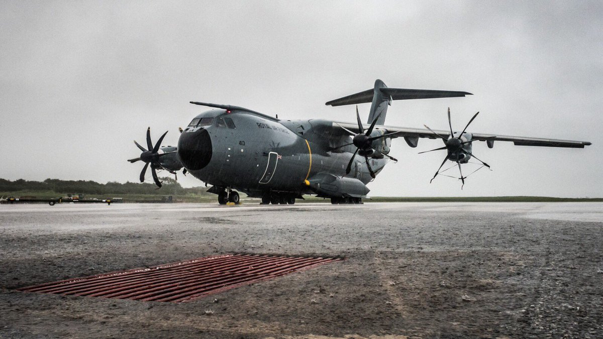 Some photos taken by LXX Sqn crews yesterday whilst providing support to British Overseas Territories in the Caribbean @RAFBrizeNorton