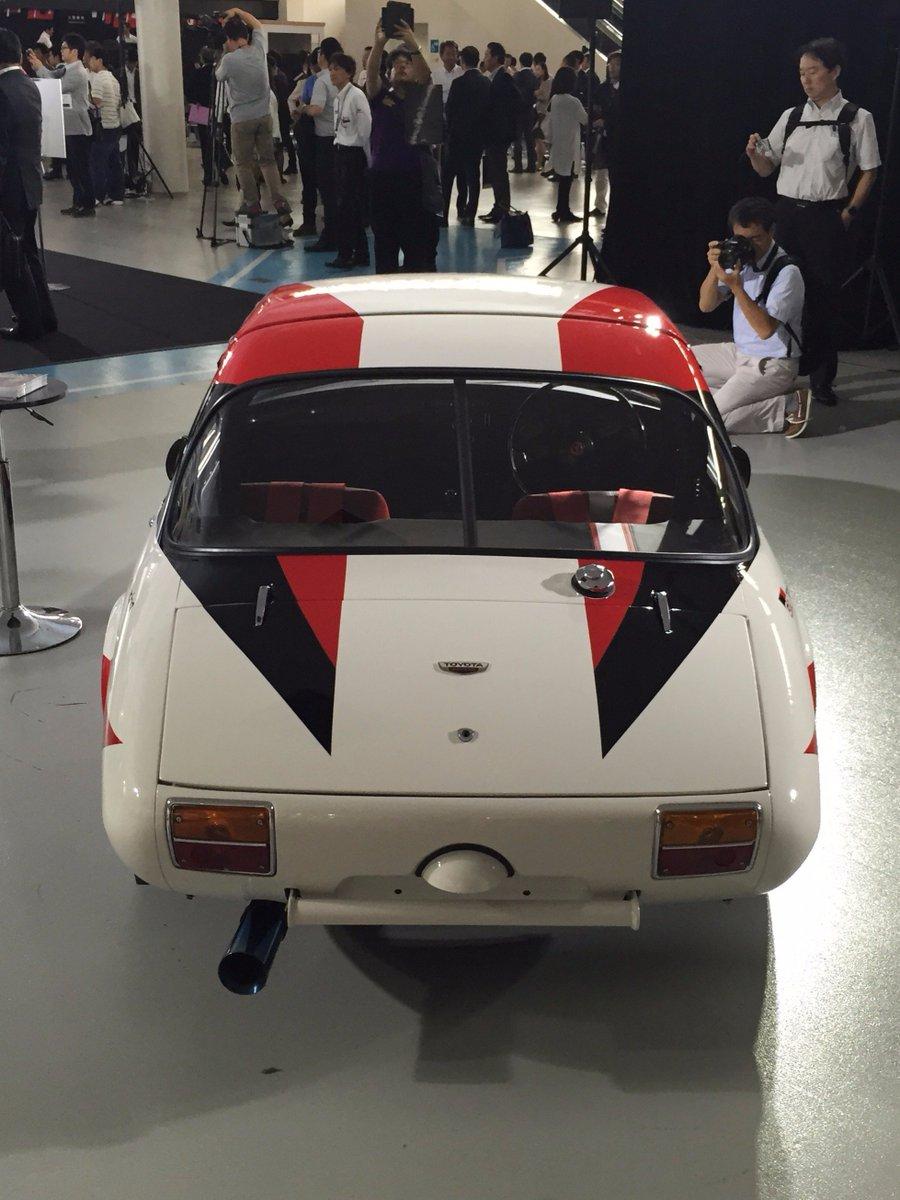 Gazoo Racing liveried classic S800 sports car.