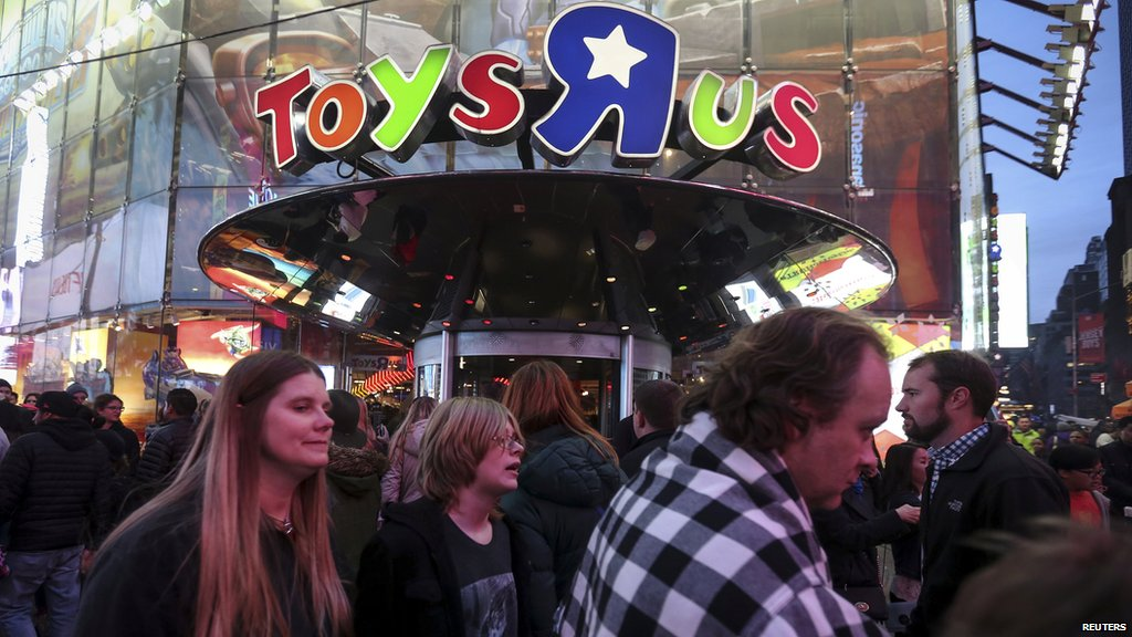 Toys 'R' Us files for bankruptcy: https://t.co/wasUzDjOH4 https://t.co...
