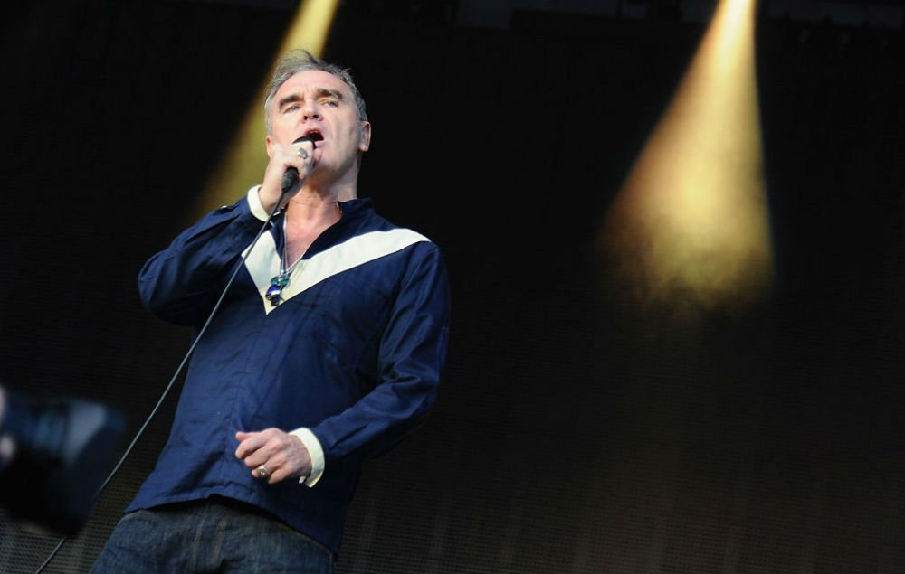 Here it is - Morrissey unveils huge comeback single 'Spent The Day In...