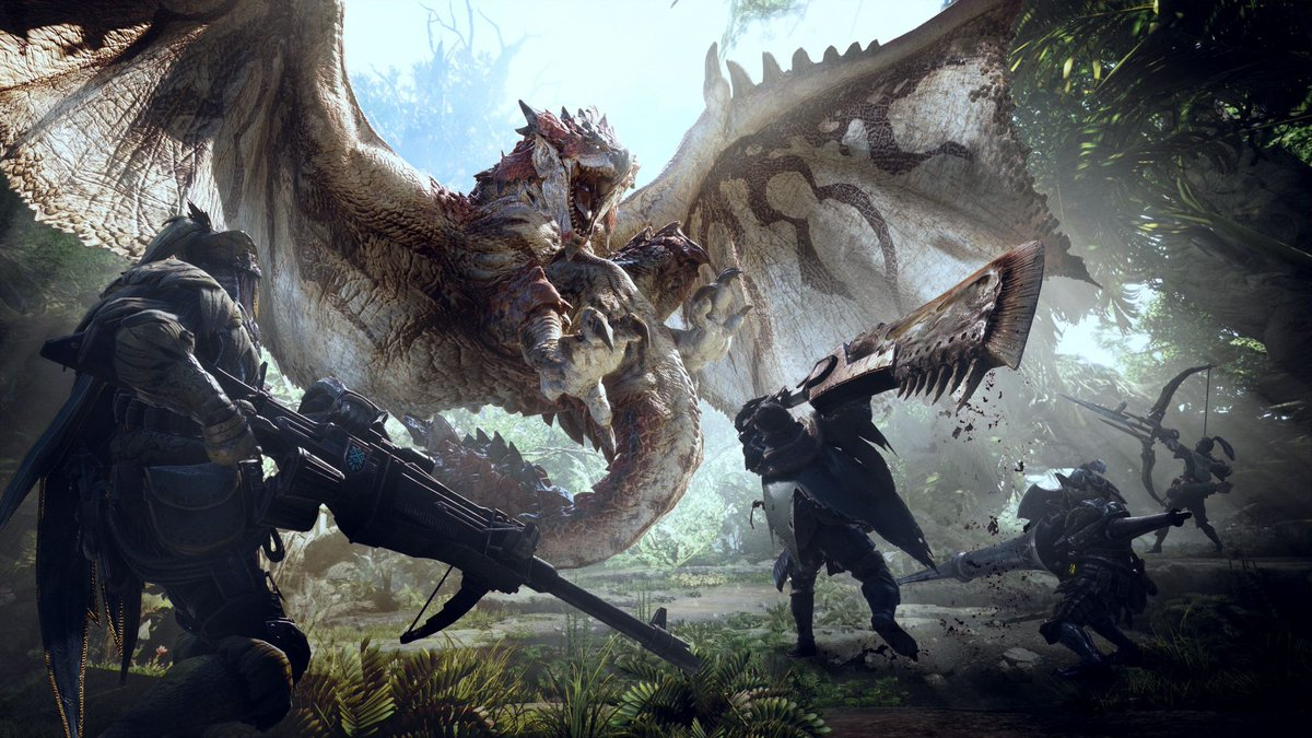 Monster Hunter World confirma su fecha oficial de salida: 26 de enero...
